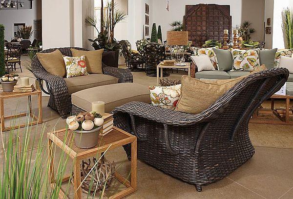wicker dining chair stool 3d model chic veranda cuddle