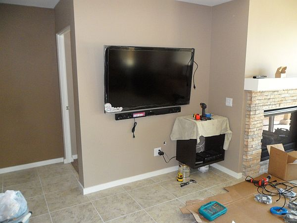 Wall Mounted TV Cabinets for Flat Screens