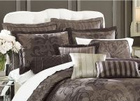 Contemporary-chic Lenox Bedding