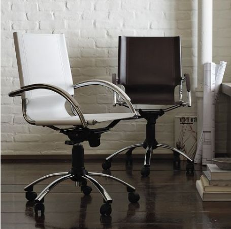 most comfortable desk chairs sling chair patio furniture elegant swivel leather