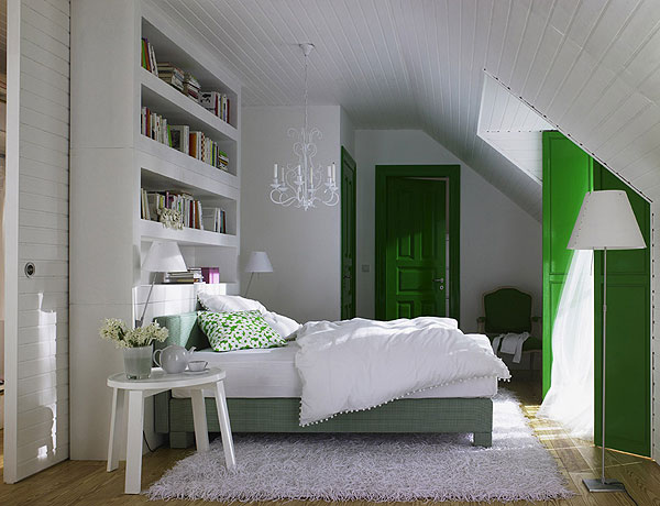 decorating attic bedrooms Turning The Attic Into A Bedroom – 50 Ideas For A Cozy Look