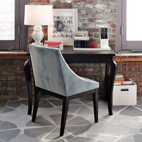accent chair with arms dining covers at target classic upholstered a delicate silhouette