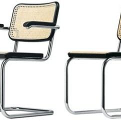 Steel Chair For Office Air Pump Tubular By Marcel Breuer