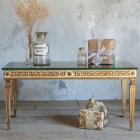 The One of a Kind Vintage Coffee Table Greek Key