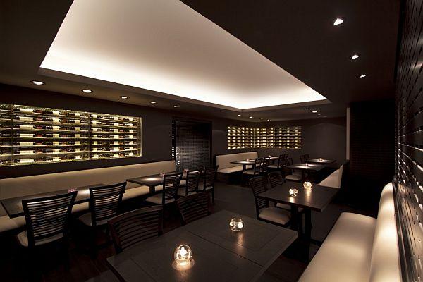 Elegant And Comfortable Dim Sum Bar Interior Design