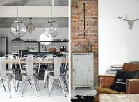 Contrasting 1930s villa with an industrial & vintage dcor