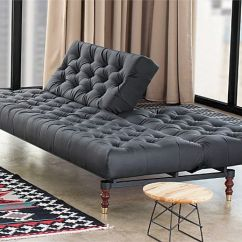 Chesterfield Sofa Bed Foam Argos Black Tufted By Per Weiss