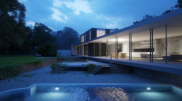 Another Modern Private House Located in Suffolk UK