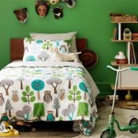 DwellStudios Kids Bedding Owls Sky Duvet Set
