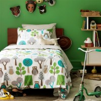 DwellStudios Kids Bedding Owls Sky Duvet Set