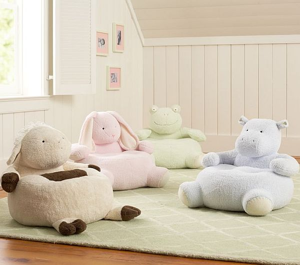 stuffed animal chair exercise up the pastel critter collection