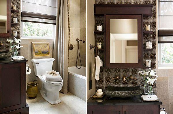 two small bathroom design