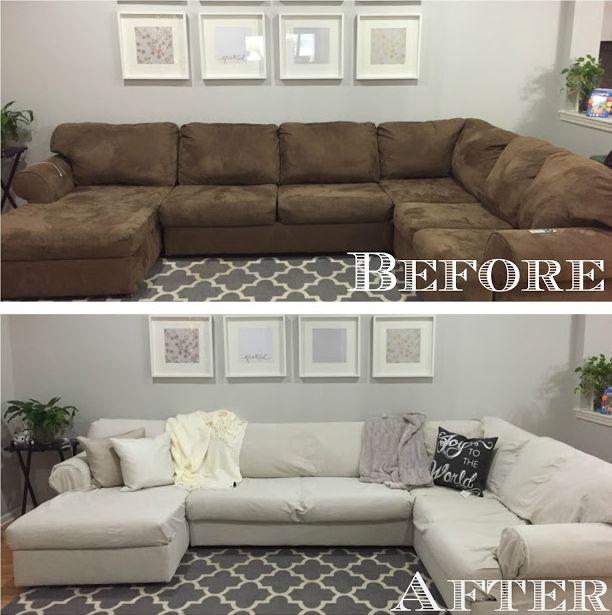 Sectional Sofa Cover Ideas   Okaycreations.net