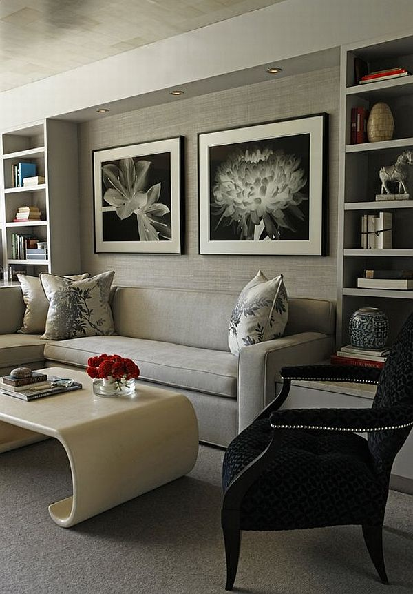 21 Gray Living Room Design Ideas Part 73