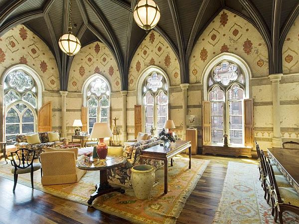 Impressive 19th Century Chateau In Central Park Now On The