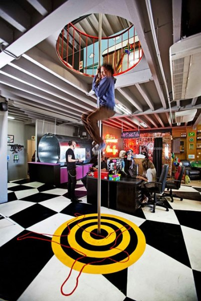 fun office design ideas The most fun and creative workplace you can find