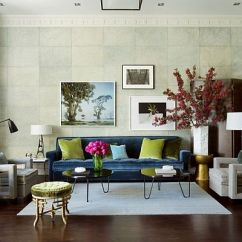 Green Living Room Walls Black Leather Couch Design 15 Ideas