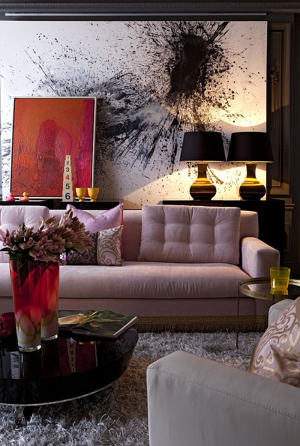 How to choose art for your living room