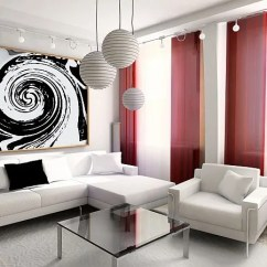 Red And White Living Room Grey With Blue Yellow Accents 15 Design Ideas