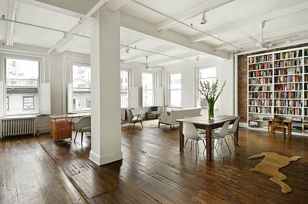 Spacious New York loft for sale