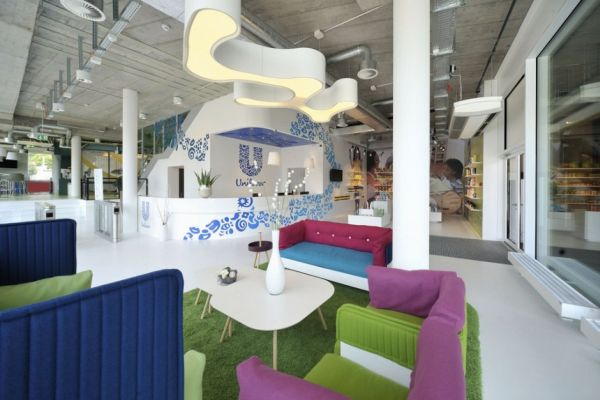 fun office design ideas Fun and Colorful Unilever Office in Switzerland
