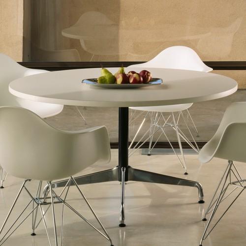 The Elegant Eames Laminate Round Table