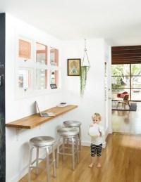 wall mounted breakfast bar.   cucina   Pinterest