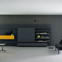 Modern Wall Units Living Room French Country Ideas Unit Designs Gone Beyond The Obvious Modular By Piero Lessoni