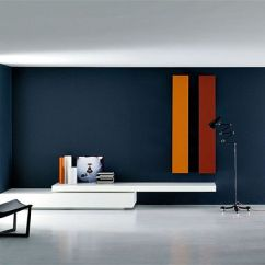 Tv Unit Designs In Living Room Simple Interior For Rooms The Modular Modern Wall By Piero Lessoni