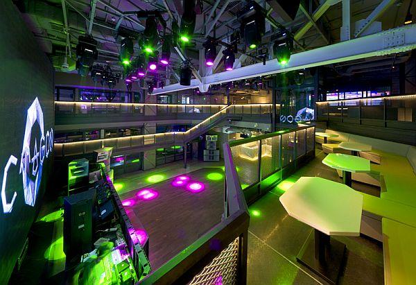 Ultra Modern Club Octagon in Seoul