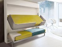 Minimal Decor: The innovative Lollisoft bunk pull-down bed ...