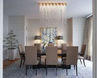 Dining Table: Over Dining Table Chandeliers