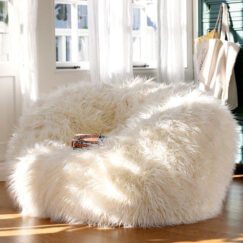 cream puff chair futon bed target furry and cozy beanbags