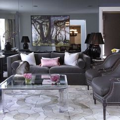 Light Gray Leather Sofa Set Settee Furniture Interior Design Ideas For Your Home