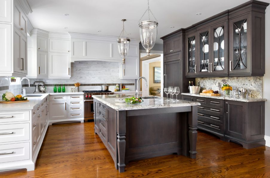 top kitchen cabinets trolley should match the hardwood floors