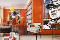 Orange rooms  fresh as a citrus