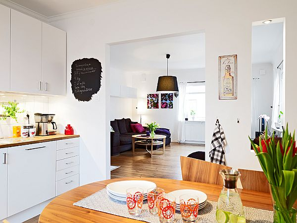 Four Room Apartment With Terrace In Gothenburg For