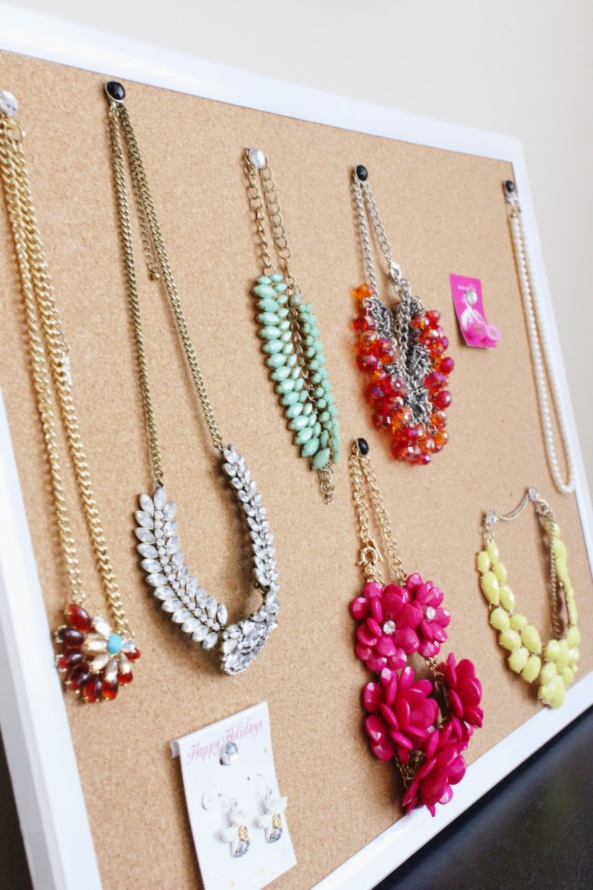 How To Frame Your Jewelry And Turn It Into Wall D 233 Cor