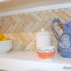 Inexpensive Backsplashes For Kitchens Diy Outdoor On A Budget Top 20 Kitchen Backsplash Ideas Heringbone Shim