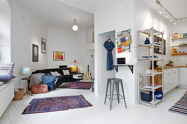 Challenging 50square meter apartment with Nordic interior