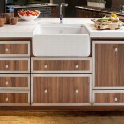 La Cornue Kitchen Grey Mat Memoire Wood Cabinetry From