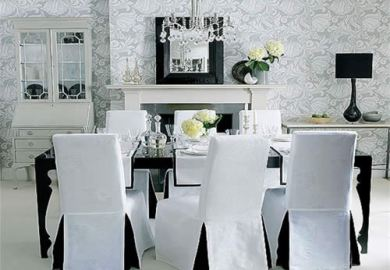 Diy Chair Covers Dining Room