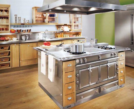 la cornue kitchen brizo faucet memoire wood cabinetry from view in gallery