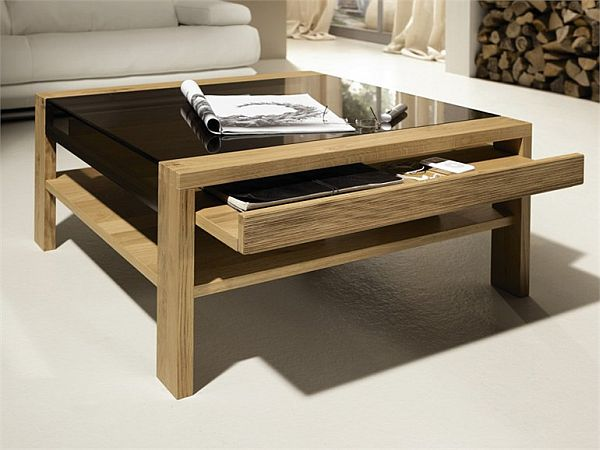 The CT 120 coffee table by Hlsta