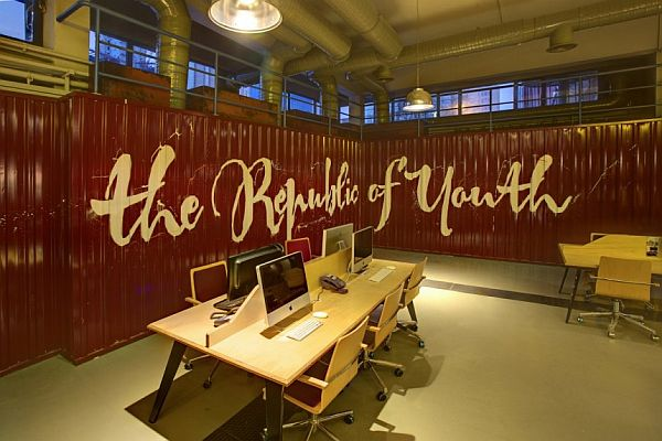 The Youth Republic Office Interior Design From An Older