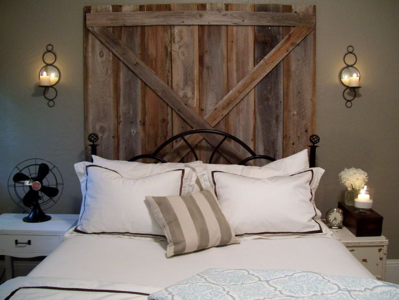 vintage headboard for your charming bedroom