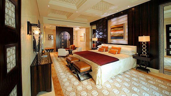 The Luxurious Pyramid Raffles Dubai Hotel