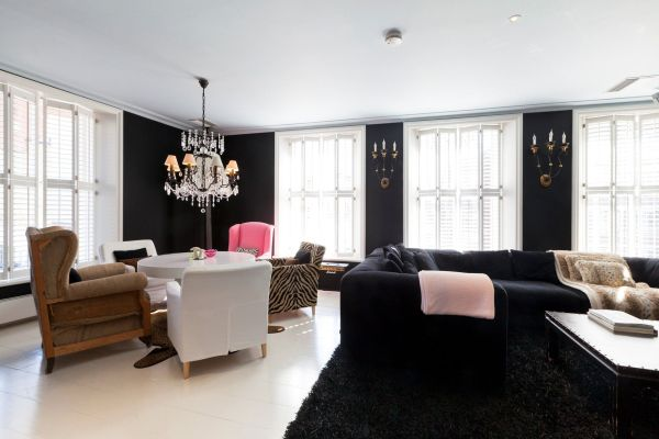 Two Bedroom Apartment With Luxurious Living Interior Design