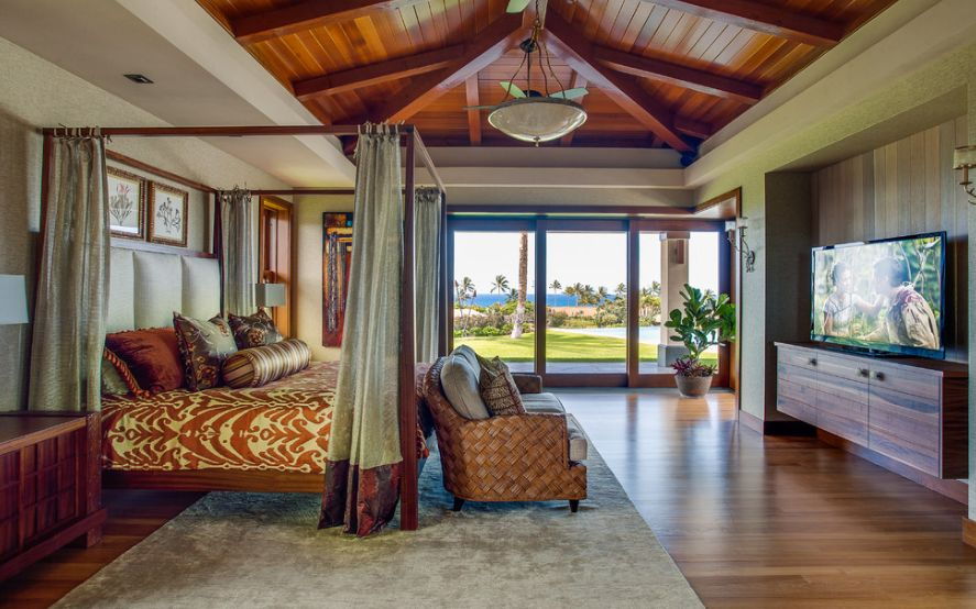 How To Have A Tropical, Islandthemed Bedroom At Home