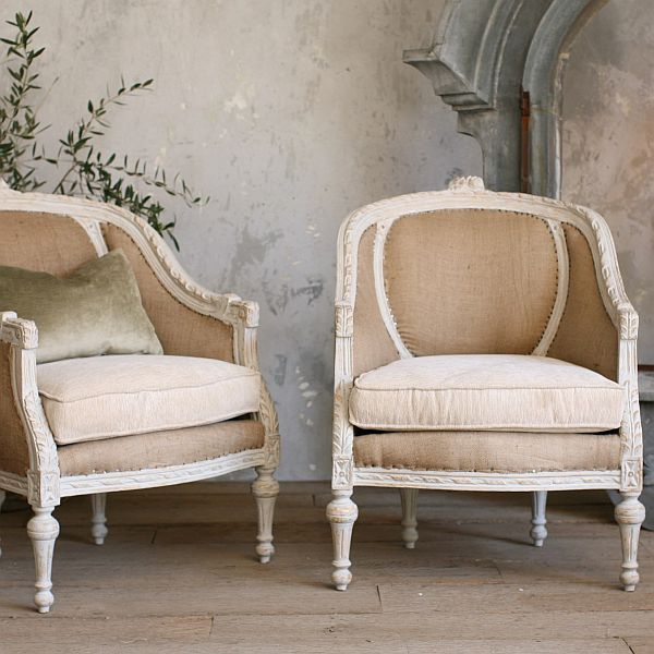 Two very stylish Louis XVIstyle chairs